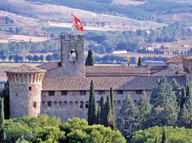Castello dei Cavalieri di Malta a Magione - Umbria