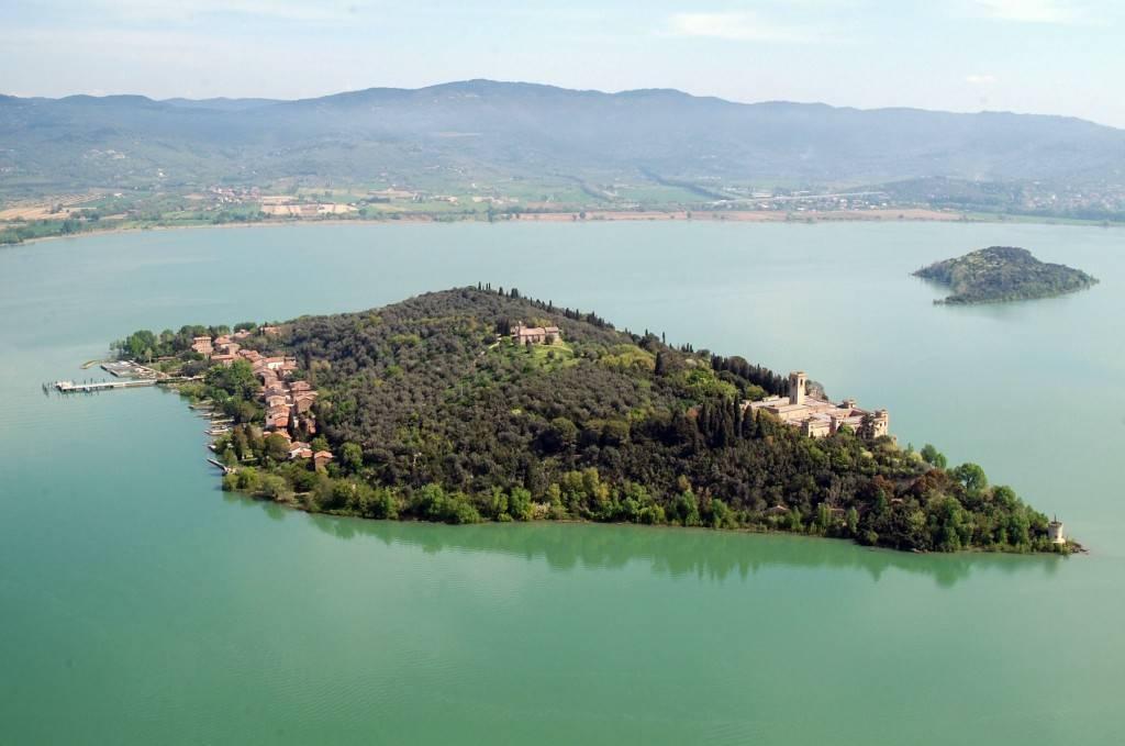 Isola Maggiore sul Lago Trasimeno