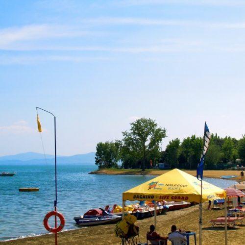 Punta Navaccia - Spiaggia pubblica attrezzata - Tuoro sul Trasimeno