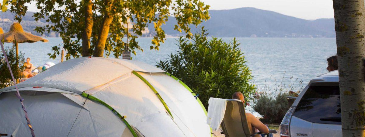 Camping La Spiaggia - Alloggi lago trasimeno