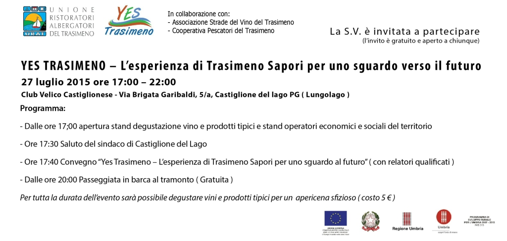 Invito Yes Trasimeno URAT