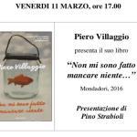 autobiografia Piero Villaggio