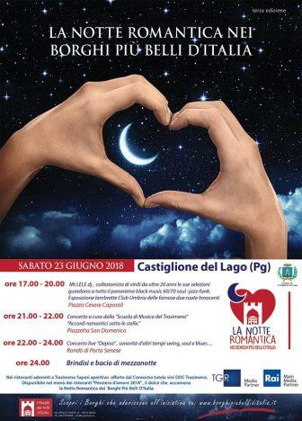 Notte Romantica – Castiglione del Lago