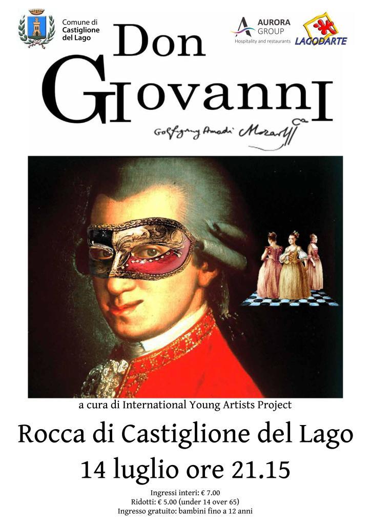 Don Giovanni - Palazzo della Corgna