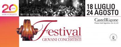 Festival dei giovani concertisti – Castel Rigone