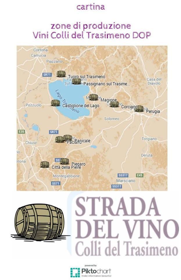 Strada del vino Colli del Trasimeno
