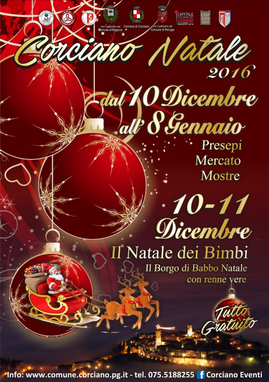 natale a corciano 2016