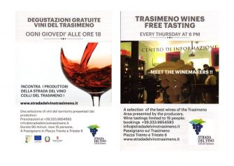 Degustazioni gratuite dei vini del Trasimeno 2019
