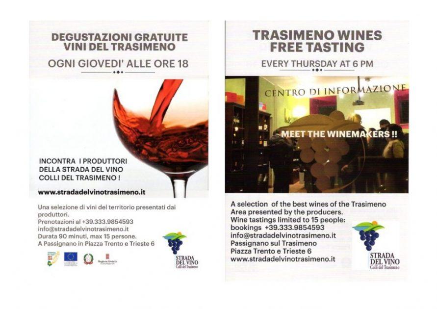 degustazione vini trasimeno strada del vino