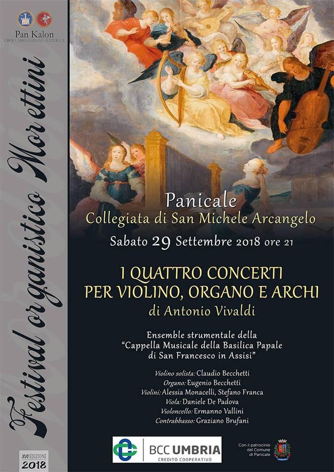 XVII Festival organistico Morettini panicale