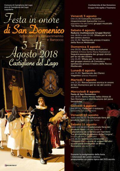 Festa di San Domenico – Castiglione del Lago