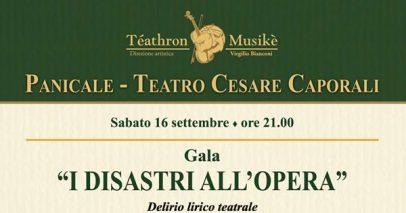 "Panicale: Il Pan Opera Festival racconta ""I disastri all'opera"""