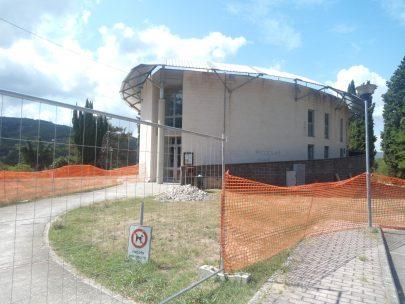 In corso a Tavernelle la manutenzione del centro polifunzionale. Sarà gestito dal Csa