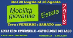 Autobus gratis venerdi e sabato sera da Tavernelle – Panicale – Paciano – Castiglione del Lago