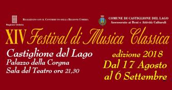 XIV Festival di Musica Classica 2018