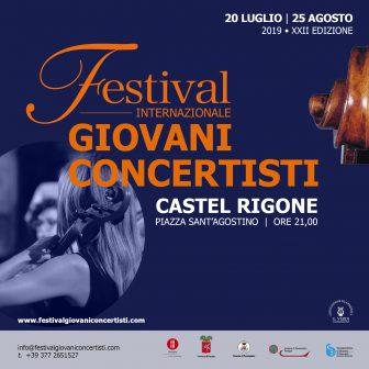 Festival dei giovani concertisti 2019 – Castel Rigone