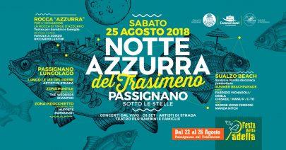 Notte Azzurra del Trasimeno 2018 –  Passignano