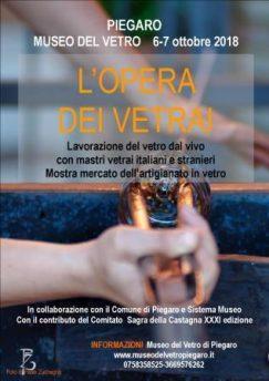 Piegaro: Castagna e vetro vivacizzano l'ottobre in Valnestore