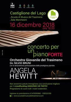 Concerto gratuito di Angela Hewitt domenica 16 dicembre