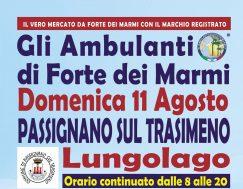 Gli Ambulanti Forte dei Marmi – 11 agosto 2019 – Passignano sul Trasimeno