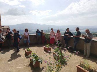 """A Città della Pieve presentato il """"Giardino di Palazzo"""""""