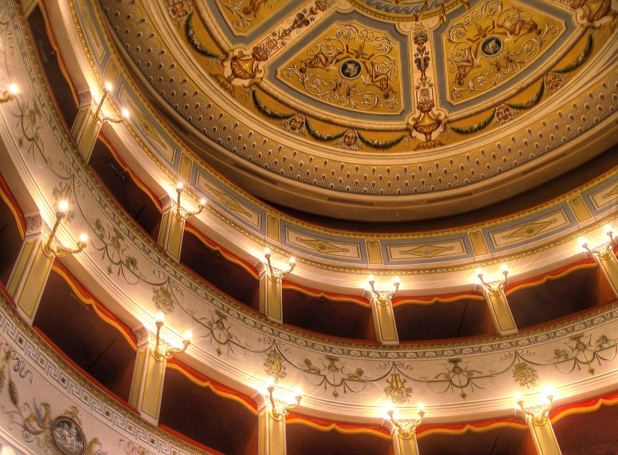 Teatro Cesare Caporali di Panicale - Perugia Umbria