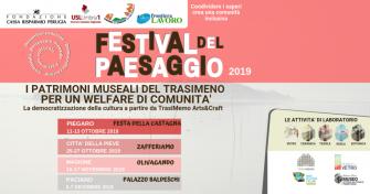 """Sagra della Castagna, Zafferiamo e Olivagando unite dal primo """"Festival del paesaggio"""""""