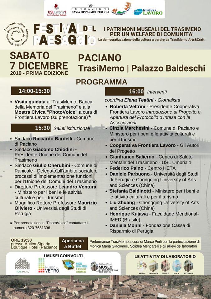 programma festival del paesaggio paciano 2019