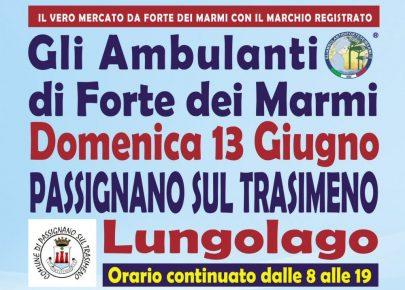 Gli Ambulanti Forte dei Marmi – 13 giugno 2021 – Passignano sul Trasimeno