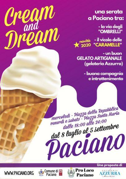 """""""Cream and Dream"""". A Paciano dal 8 luglio al 5 settembre"""