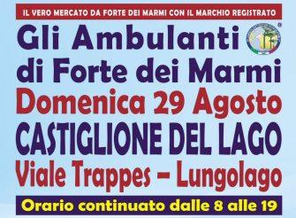 Gli Ambulanti Forte dei Marmi – 29 agosto 2021 – Castiglione del Lago
