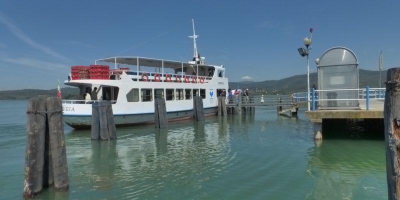 Orario traghetti Isola Maggiore e Polvese 2020