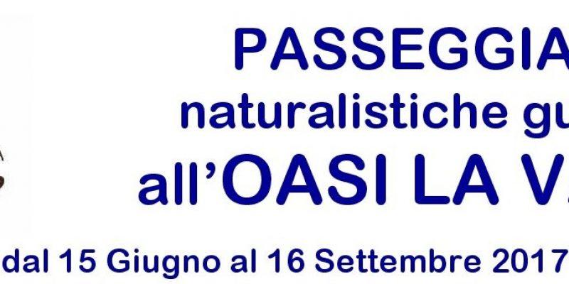 Passeggiate naturalistiche Oasi La Valle